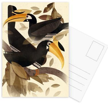 Hornbill Postcard Set
