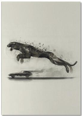 Jaguar 03 -Notizblock