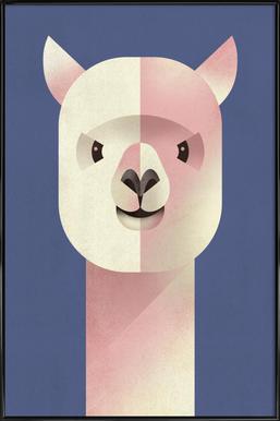 Alpaka Framed Poster
