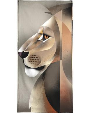 Lion serviette de bain