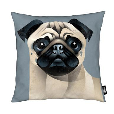 Pug coussin