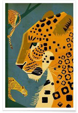 Leopard - Premium Poster