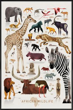 Afrika Framed Poster