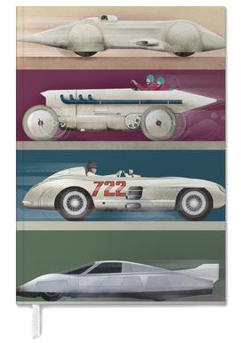 Record Cars Personal Planner