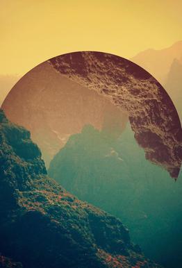 Esfera -Acrylglasbild