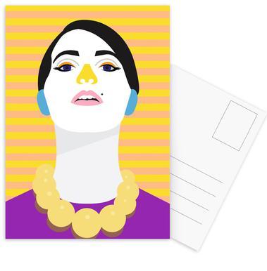 Mia Postcard Set