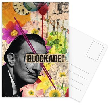 Public Figures: Dali Postcard Set
