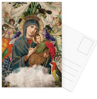 Saints: Madonna and Child Postcard Set