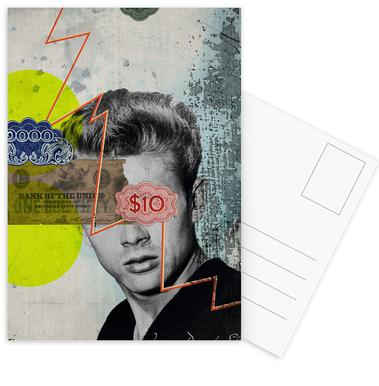 Public Figures: James Dean Postcard Set
