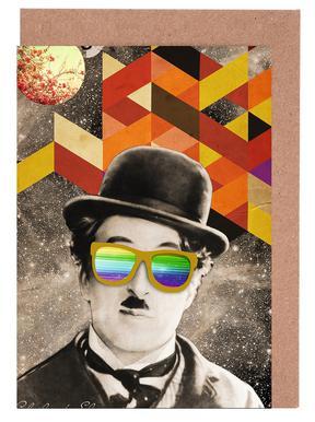 Public Figures: Chaplin cartes de vœux