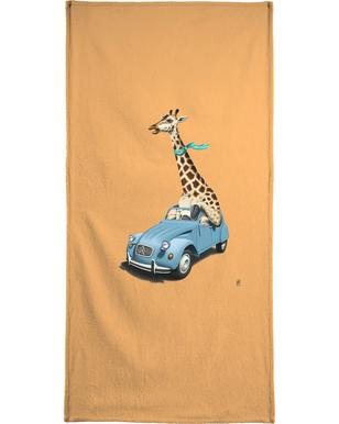Riding high (colored) Beach Towel