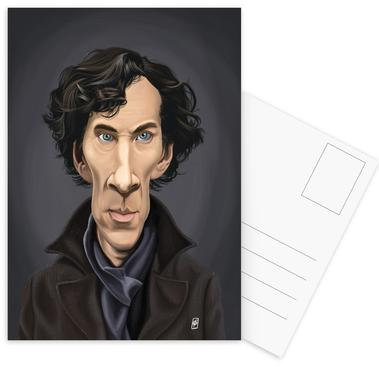 Benedict Cumberbatch Postcard Set