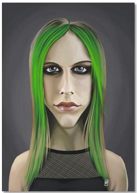 Avril Lavigne bloc-notes