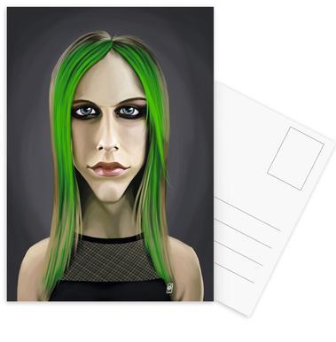 Avril Lavigne Postcard Set