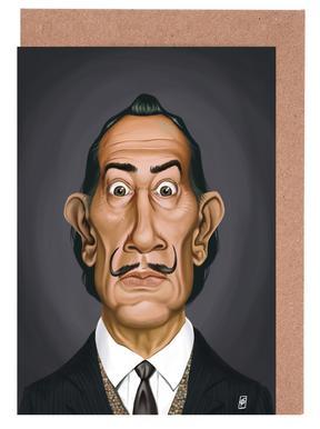 Salvador Dali Greeting Card Set