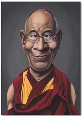 Dalai Lama -Notizblock
