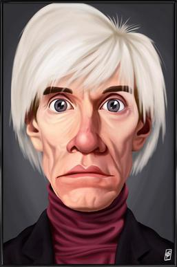 Andy Warhol ingelijste poster
