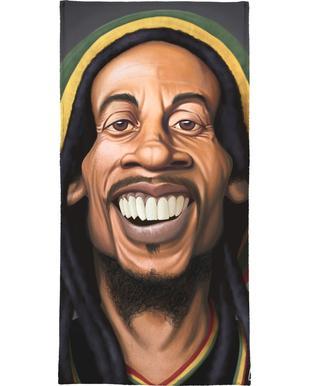 Bob Marley serviette de bain