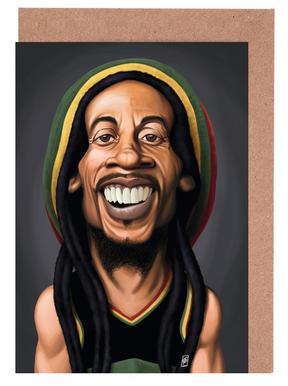 Bob Marley cartes de vœux