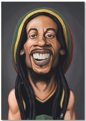 Bob Marley Notepad
