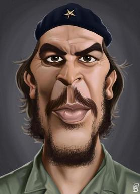 Che Guevara -Leinwandbild