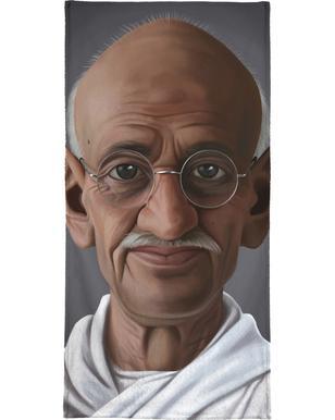 Mahatma Gandhi Bath Towel
