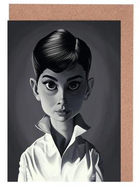 Audrey Hepburn cartes de vœux