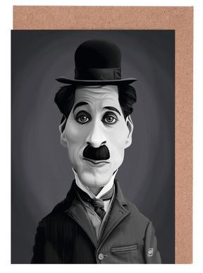 Charlie Chaplin Greeting Card Set