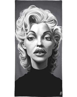Marylin Monroe Bath Towel