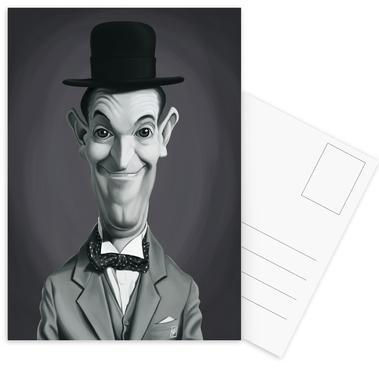 Stan Laurel Postcard Set