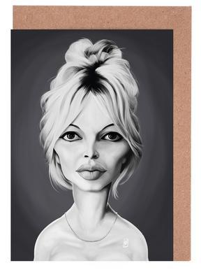 Brigitte Bardot cartes de vœux