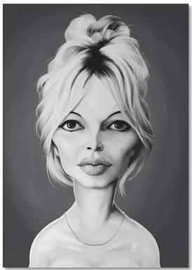 Brigitte Bardot Notepad