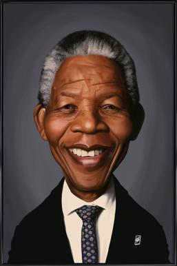 Nelson Mandela Framed Poster