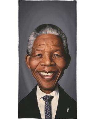 Nelson Mandela Bath Towel