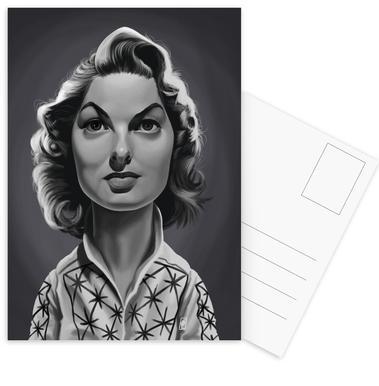 Ingrid Bergman Postcard Set