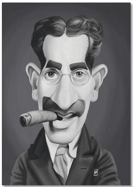 Groucho Marx bloc-notes