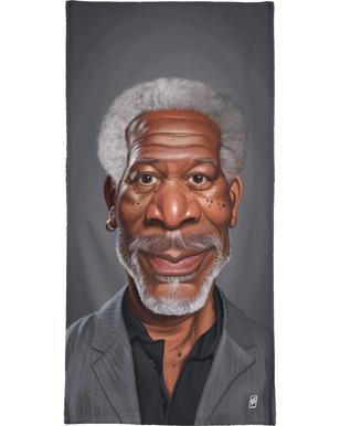 Morgan Freeman Bath Towel