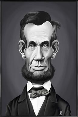 Abraham Lincoln Framed Poster