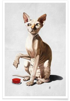 Cat-astrophe Poster