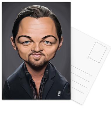Leonardo Di Caprio Postcard Set