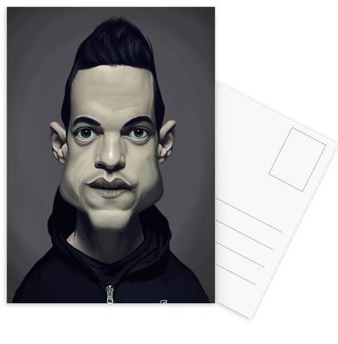 Rami Malek Postcard Set