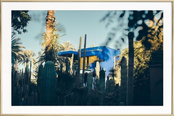 Marrakesh Paradise 12 - Poster in aluminium lijst