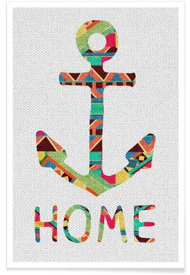 You Make Me Home Poster