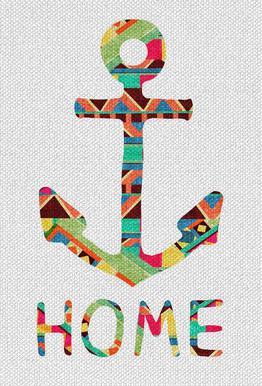 You Make Me Home Acrylic Print