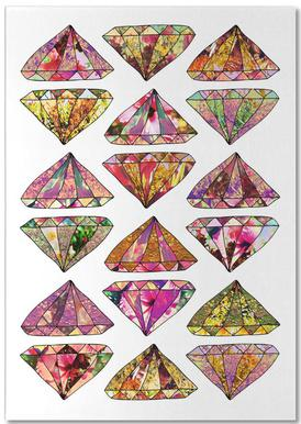 These Diamonds are Forever Notepad