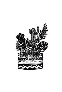 Botanical Pot