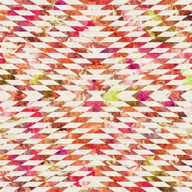 Floral Explosion -Acrylglasbild