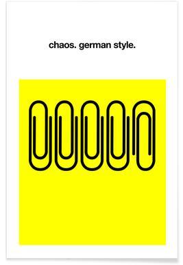 German Chaos Poster