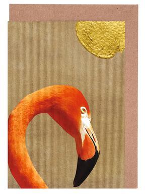 Flamingo Awakening Greeting Card Set