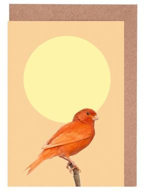 Japanischer Sonnenvogel Greeting Card Set